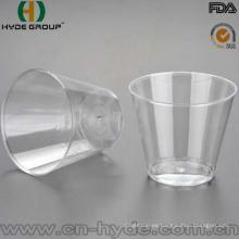 PS material al por mayor de plástico desechable taza de inyección