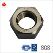Carbon steel black oxide heavy hex nut(din934)