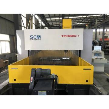 Gantry Movable CNC Drilling Machine untuk Plat Steel