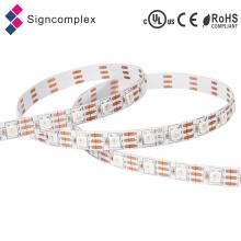 Tira interna do diodo emissor de luz da CC 550 de IC Digital 5050, tira RGB do diodo emissor de luz do brilho alto Signcomplex