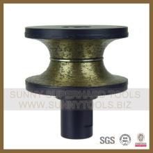 Профилирование алмазных дисков Профилировочное колесо Bullnose D80mm-Sunnytools
