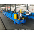 Lembaran Logam Roofing Gutter Roll Forming Machine