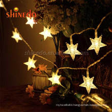 Outdoor Patio Garden Party Waterproof Holiday Christmas Decorative 12 LED Solar String Lights