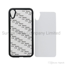 2D Sublimation Plastic Phone Cover for iPhone Case