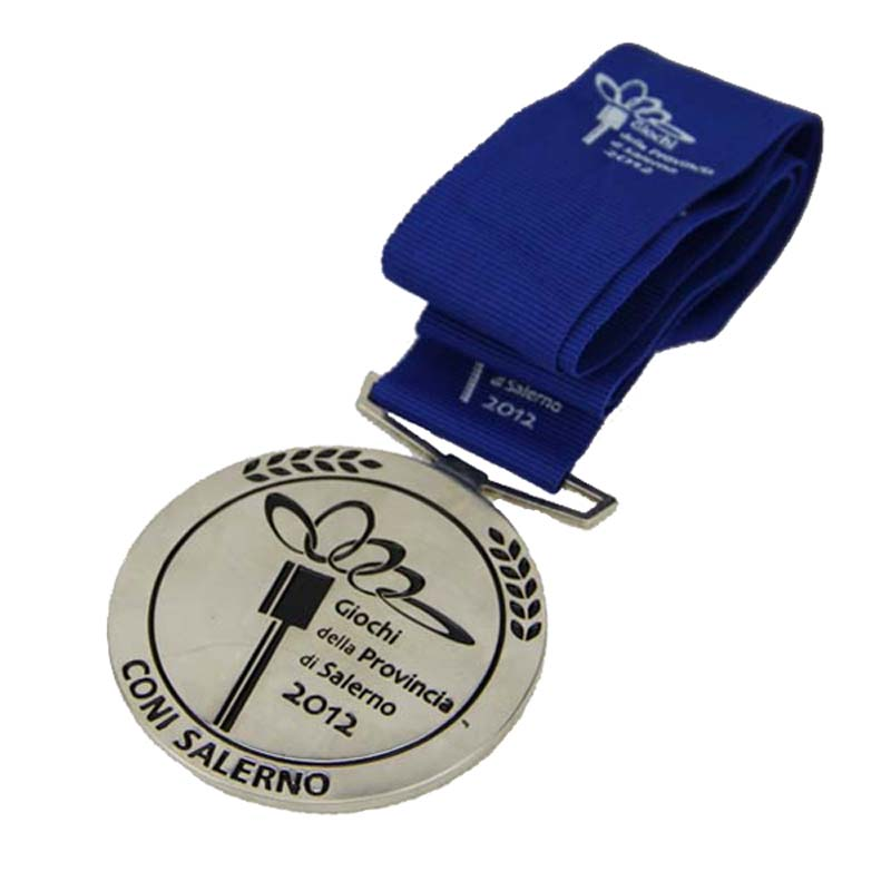 Custom Medal With Ribbons 3