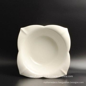 Hotel Use High Quality White Ceramic Plate
