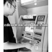 Taille de la carte de crédit Cartes bancaires en PVC sans Visa / Master
