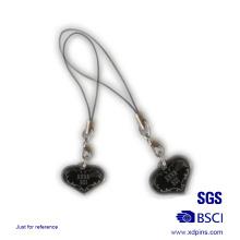 Metall Herz geformt Paar Telefon Strap für Liebhaber Geschenk (KC-20)