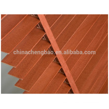 Wood venetian blinds parts/wood blinds slats