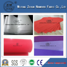 Various Colors Polypropylene PP Spunbond Nonwoven Fabric Weight from 10g to 200g