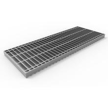 Pick Proof Galvanized Steel Bar Grating Floor Drain Manhole Rainwater Drainage, Customized Trench Drain Cover Grate