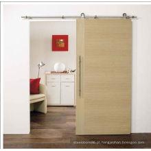 Ferragens para portas de madeira deslizantes, porta do quarto