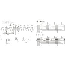 0.56inch 4 Digit 7 Segment Display (GNS-5642AxBx)