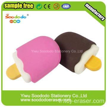 2,1 * 1,2 * 4cm 3d Popsicle Shaped Eraser