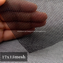Fábrica a prueba de polvo Pantalla de ventana de acero inoxidable transparente