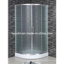 Salle de douche en verre acide (AS-901)