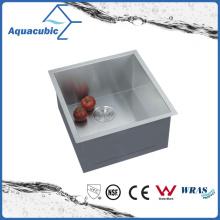 Évier de cuisine en acier inoxydable en acier inoxydable à simple bol (ACS1920A1)