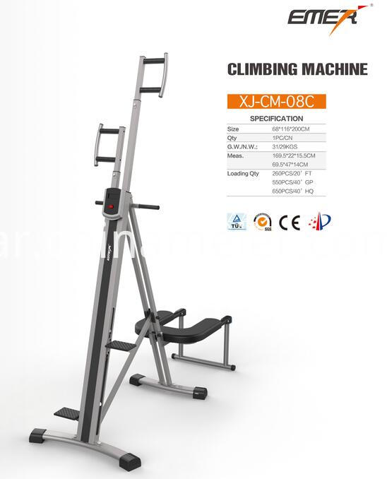 Vertical Fitness Climbing Machine