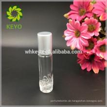 8 ml 10 ml 15 ml transparent roller ball flasche ätherisches öl parfüm glasflaschen mit schraubverschluss