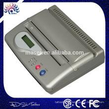 Neue DesignTop Qualität Schwarz USB Interface Mini Tattoo Transfer Maschine Verbunden Computer Tattoo Thermo Kopierer Transfer Drucker
