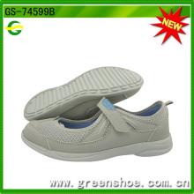 Новые дизайны Популярные женские повседневные ботинки (GS-74599)