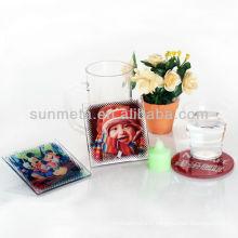 Tapis en verre de sublimation avec revêtement