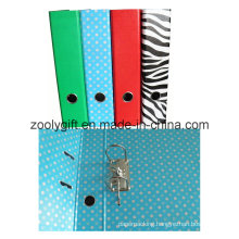 Lever Arch File with Punch Zebra Printing File Folder