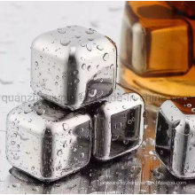 OEM Reusable Stainless Steel Wine Whiskey Stones Ice Cube