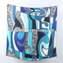 100 mantones de seda impresos a mano de la bufanda turca