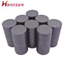 C5 round ferrite ceramic magnets industrial disc magnet