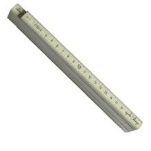 Régua de dobramento plástica 2 medidores 10 dobras Mte4103
