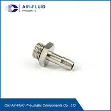 Air-Fluid Brass Hose Barb Mender Splicer Fittings 3/8""