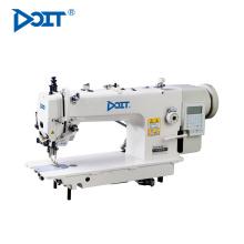 DT 0313-D3 acionamento direto computadorizado longo braço superior e inferior composto alimentação máquina de costura industrial lockstitch