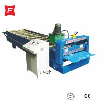 Máquina formadora de rollos de panel de techo trapezoidal