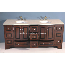"72"" Solid Wood Bathroom Vanity (BA-1101)"