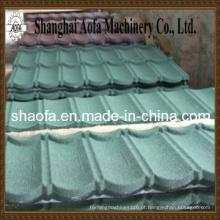 Linha de produção revestida de pedra de telha metálica (AF-G1025)