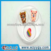Etiqueta engomada móvil 3d de resina decorativa, etiqueta engomada móvil OEM