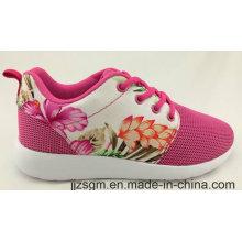 Красивые китайские цветочные картины повседневная обувь для леди