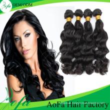 Wavy Hair Weaving/ Remy Hair Extension / Virgin Brazilian Human Hair