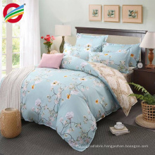 cotton 3d reactive printed bedding bed sheet sets for fabric