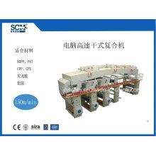 Papel, não tecida, filme de alta velocidade DTY-Type Laminating Machine