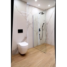 Aluminium Shower Enclosure with 6mm or 8mm Glass