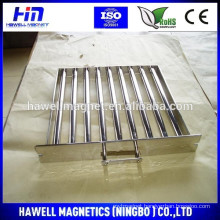 Permanent NdFeB Magnetic grates are used in bins/chutes/drawers/hoppers