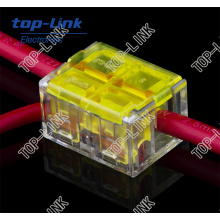 Bloco de terminais elétricos Conector de fio para arranjo de fio