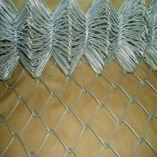 Chain Link Fence in Hot-Dipped Galvanized