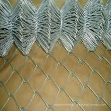 Chain Link Fence in Galvanzied Coating