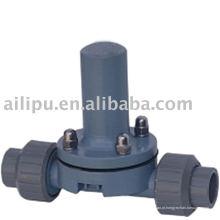 Válvula de segurança de alta pressão para a bomba dosadora