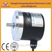 hengxiang codificador rotatorio S70 Longitud de medición Encoder Incremental eje sólido LF push pull DC12V