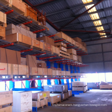 High Quality double -side heavy duty storage Cantilever racking
