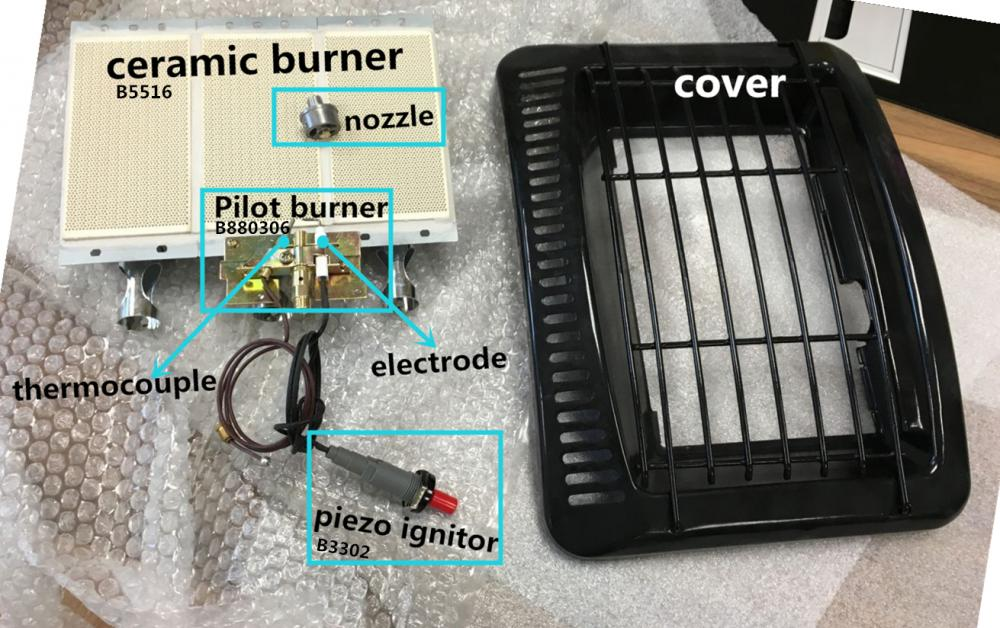 Gas Heater Burner